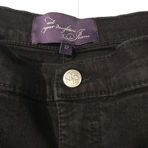 NYDJ Jeans - NYDJ Marilyn Straight Jeans in Black